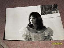 3 Aushangfotos Anna Karina  ca.  18 x 13 cm