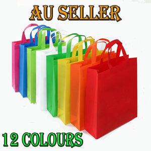 Bulk 1-200pcs Reusable Shopping Bags Tote Bag Eco Friendly Non Woven Folding