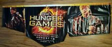 RARE The Hunger Games Promotional Vinyl Banner Poster HUGE 95×36