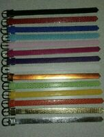 Handmade belts - Barbie, Fashion royalty, Poppy Parker - 14 pcs - New colors!