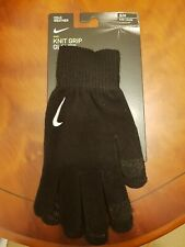 Nike Knit Grip Gloves, Size S/M, BNWT. Touchscreen Compatible.