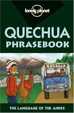 Lonely Planet Quechua Phrasebook Serafin Coronel-Molina Paperback Used - Very G