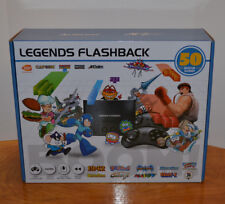 ARCADE LEGENDS FLASHBACK VIDEO GAME SYSTEM 50 BUILT IN GAMES STREET FIGHTER 2