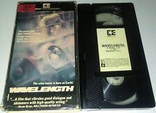 Wavelength Vhs Horror in Great Condition Rare Original First Edition Release!
