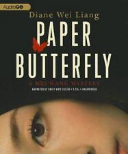 Paper Butterfly : A Mei Wang Mystery by Diane Wei Liang (2012, CD)