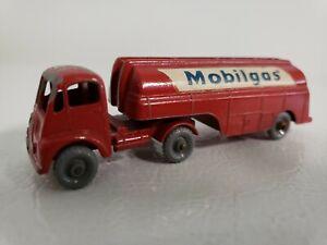 Vintage MatchboxLesney Major Pack No. 8 Thornycroft Mobilgas Petrol Tanker