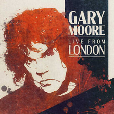 GARY MOORE LIVE FROM LONDON NEW CD - RELEASED 31/01/2020