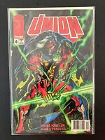 UNION #4 IMAGE COMICS NM/MT [NEWSSTAND] 1993 RARE!!