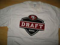 San Francisco 49ers Tee - Vintage 2006 NFL Football Team Draft Pick T Shirt XLrg