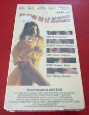 Sealed French VHS Movie Au Seuil de la Démence Version Française !