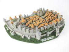 Carcassonne Festung Languedoc Poly Modell XL 23 cm Frankreich Souvenir