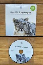 Apple Mac OS X Snow Leopard 10.6.3 RETAIL Apple DVD di installazione del sistema operativo
