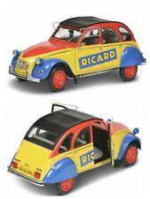 1/18 solido Citroen 2CV 1985 Ricard Anise Decalco  livraison gratuite domicile