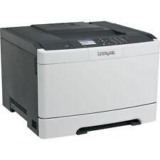 Lexmark Cs417dn Farblaserdrucker - Grau/Schwarz (28DC070)