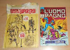 ED.CORNO SERIE  L'UOMO RAGNO  N° 65 1972 CON BUSTA ORIGINALE APERTA  N° 14 !!!!!