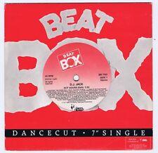 "D.J. JACK Hot House / Passion Swedish 7"" 1988 Beat Box."