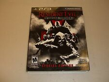 Resident Evil: Operation Raccoon City (Special Edition)  (PlayStation 3, 2012)