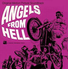 Ángeles del Infierno Lp OST Carrete tiempo Stu Phillips Hell's Angels Biker película Fuzz