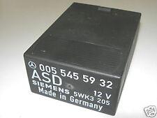 Mercedes-Benz W201 190 W124 E Klasse ASD Steuergerät A0085452432 A0055455932