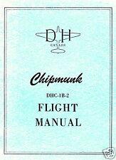 DE HAVILLAND CANADA DHC-1B-2 CHIPMUNK - FLIGHT MANUAL