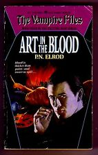 ART IN THE BLOOD (P. N. Elrod/1st US/PBO/#4 The Vampire Files)