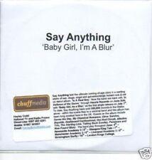 (471O) Say Anything, Baby Girl I'm A Blur - DJ CD