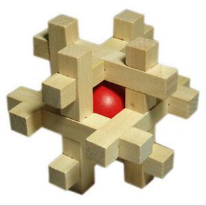 Fashion Adult Puzzle Toy SnakeCube Rompicapo in legno Elimina il nuovo RedBall