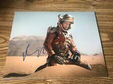 Matt Damon Autographed 11x14 Photo Jason Bourne Martian Good Will Hunting Proof