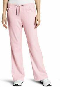 Carhartt Workflex Womens Pink 3 Pocket Flare Leg Scrub Pants