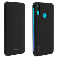 Huawei Y7 2019 Cover Full Protector Card Case - Black