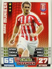 Match coronó 2014/15 Premier League - #258 marc muniesa-Stoke City