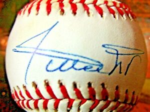 Willie Mays Single Signed Autographed ONL Baseball~~ Giants Mets~~