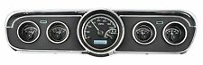1965 1966 Ford Mustang Dash Gauges Instruments Dakota Digital VHX Black white