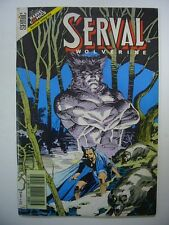 MARVEL SEMIC FRANCE SERVAL-WOLVERINE N° 13 1991 TRES BON ETAT