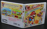 Paper Mario Sticker Star Nintendo 3DS Replacement Game Case Insert No GAME DISC