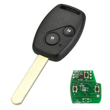 2 Button Keyless Entry Remote Key Fob 433Mhz ID46 for Honda Civic CRV Jazz HRV