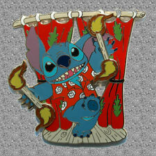 Stitch Playing with Fire Pin - Jumbo - Disney Auctions Pin LE 100
