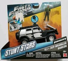 Fast & Furious Stunt Stars Tej & Jeep Wrangler Rubicon Vehicle NEW