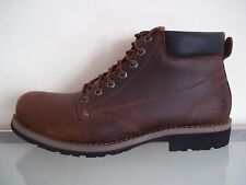 Skechers Shockwaves Dark Brown Men's Lace Up Boots Size UK 12/46
