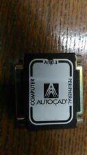AutoCAD dongle para paralelo interfaz y manuales AutoCAD 10