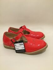 Red Mary Jane Style Girl Formal Shoes Size UK1