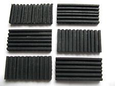 Antivibration Rubber Pad 50x100x10mm Reduce Noise Mount Mat grip shock absorber