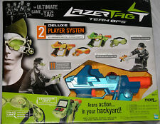New Hasbro Lazer Tag Team OPS Deluxe 2 Player System New
