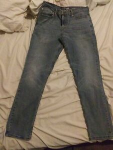 Signature By Levi Strauss Slim Fit Straight Jeans Men's Size 34 x 32