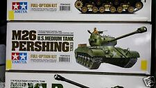 TAMIYA # 56016 1/16 RC U.S. M26 Pershing T26E3 - Full-Option Kit NEW IN BOX