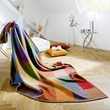 Biederlack Wohndecke Baumwolldecke Kuscheldecke Decke - Cotton Pure - Colourmix