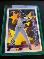 1996 TOPPS KEN GRIFFEY JR SEATTLE MARINERS STAR POWER CARD #230