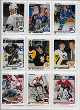 1990/91 Upper Deck Hockey complete low set 1-400