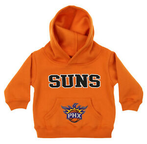 OuterStuff NBA Infant and Toddler's Phoenix Suns Fleece Hoodie, Orange