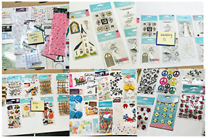 Huge Large Lot of Stickers 100 Sticker Packs mostly Jolee's Jolees Boutique